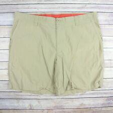 COLUMBIA Men's Cotton Shorts SIZE 40W 8L Brown