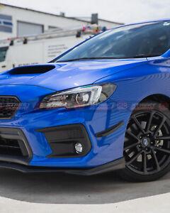 S-T Style Front Canards For 2014-2020 Subaru WRX/STI & Levorg V1 (MATTE BLACK)