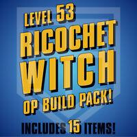 PS4 Borderlands 3 Amara RICOCHET WITCH Spiritual Driver Lob Hellshock LEVEL 53