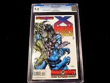 """X-Men: Unlimited #10 - CGC 9.8 - """"Waid Script""""!  """"Beast vs. Beast"""""""