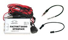 Wired FM Modulator Audio Input RCA Port Stock Stereo + Antenna Adapter CR6 CR7