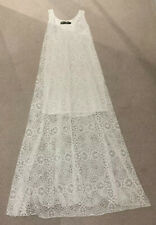 White Lace Maxi Dress Size S (8/10)