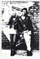 SEX PISTOLS carte postale  Sid VICIOUS Sid and Nancy