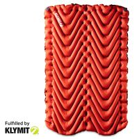 KLYMIT Insulated Double Static V Two-person Sleeping Camping Pad - Refurbished