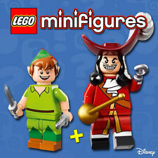 LEGO Minifigures #71012 - Peter Pan + Capitaine Crochet / Hook - NEW - Sealed