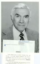 LORNE GREENE PORTRAIT CODE RED ORIGINAL 1981 ABC TV PHOTO