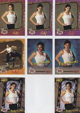 MOLLY HOLLY  *Super Rare!* 2002 WWE ABSOLUTE DIVAS GOLD GEMS Full 8 Card Set