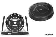 Skin Decal Wrap For iRobot Roomba 860/870/880 Vacuum Sticker Accessories CARBON