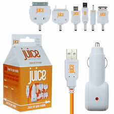 Juice In Car Charger for Nokia Lumia 520 620 720 Asha 300 302 N8 C2 C5 C7 X3 X5