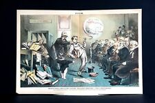 Bank Failures Default 1881 SPECULATION DIRECTORS BANKERS COOKING the BOOKS Puck