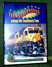"cp078 TRAIN VIDEO DVD ""THE SUSQUEHANNA"" SOUTHERN TIER!!"