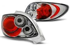 Paire de feux arriere Peugeot 206cc 98-06 chrome