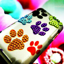 Apple iPod Touch 4 4th Generation Puppy Dog Paws Bling Rhinestone Cover Case 4G