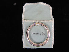 Antique Tiffany & Co. Sterling Silver Single Baby Teething Rattle