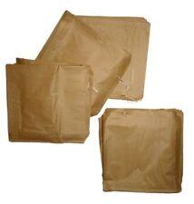 """500 X marrón bolsas de papel Encordado 14 """"x 18"""" para llevar"""