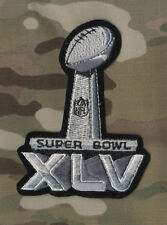 NFL CHAMPIONSHIP SUPER BOWL XLV SUPERBOWL SB 45 PACKERS STEELERS JERSEY PATCH