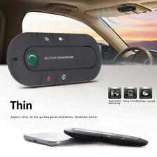 1PCS Wireless-Bluetooth Hands Free Car Speakerphone Speaker Phone Visor Clip Kit