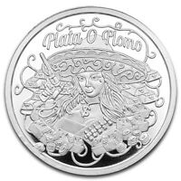 """""""Plata O Plomo"""" Silver or Lead 1 oz .999 Silver Coin Only 200 MINTED"""