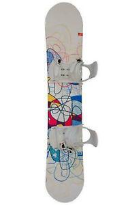 Head /Generics Snowboardset Board 145 cm + Bindung UVP 199€ Neu