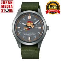 Seiko Alba ACCK424 Super Mario Bros. Collaboration Limited Edition Quartz Watch