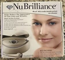 Nu Brilliance Real Microdermabrasion At-Home System w/ Manual & Dvd #30212C