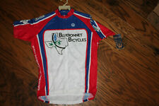 Men's Short Sleeve Cycling Jersey Canari Texas Bluebonnets NWT Size XL