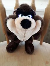 Warner Bros. Tasmanian Devil Taz stuffed animal plush toy Bugs Bunny show 1989