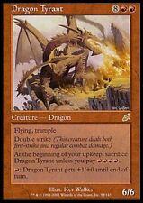 Dragon Tyran - Tyrant Dragon - 6/6 Double initative vol piétinement  Magic mtg -