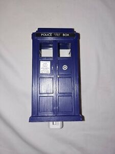 VINTAGE COLLECTORS DR WHO Police Public Call Box Tardis Night Light  10TH DOCTOR