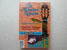 THE MISSOUR REVIEW 1995 Volume XVIII Number 2 The Zane Grey Letters JILES