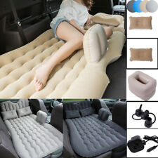 Inflatable Mattress Car Air Bed Back Seat Cushion Travel Camping + Pillow Pump