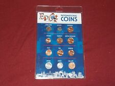 Authentic Disney Parks Epcot International Coin Set Zimbabwe, Mexico & More New