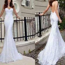 2018 Sexy Backless Mermaid Wedding Dresses Sleeveless Custom Dress For Bridal