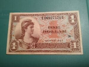 1954 MPC UNITED STATES ,One 1.00 Dollar (SERIES 521)Note.. Choice XF