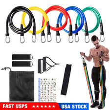 New listing 11x Resistance Bands Booty Fitness Gym At Home Exercise Yoga workout Cross Fit