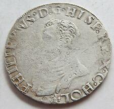 1/5 PHILIPSDAALDER (1562-64 ) HOLLAND , NIEDERLANDE , SILBER , 28.5 mm , 6.49 g