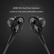 AK985 DX1 HIFI Earphone Mic Remote Stereo Sport Headphone Gaming Earbuds Bass