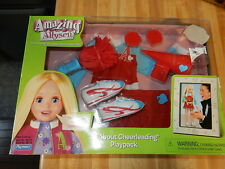 Playmates Amazing Ally Doll Let's Play Cheerleader Outfit & Playset Clothes Nib