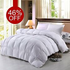King Size Lightweight Warm Goose Down Comforter Winter Bedding Hypoallergenic