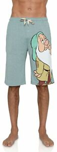 Disney Men's Snow White and The Seven Dwarfs Sleepy Lounge Shorts