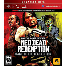 Red Dead Redemption Game of the Year Edition NEW Sony Playstation 3 PS3 Game