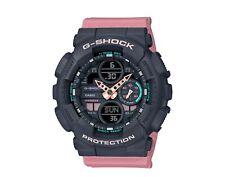Casio G-Shock GMAS140 S Series A/D Resin Black/Pink Women's Watch GMAS140-4A