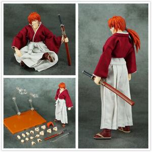 Dasin GT model 6 inch action figure anime rurouni kenshin HIMURA KENSHIN red*