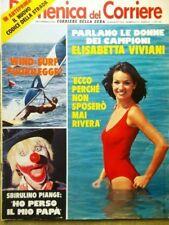 La Domenica del Corriere 29 Agosto 1979 Rivera Parisi Tanzi Mondaini Sbirulino
