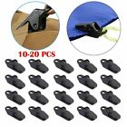 10-20 Sets Awning Tarp Clamp Set Clips Hangers Survival Tent Emergency Grommet