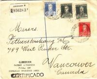 1934, Buenos Aires, Argentina to Vancouver, Canada, See Remark (26618)