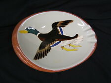 "Mid Century Stangl Duck Ashtray 10 3/4"" Length USA VGC"