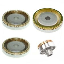 4 Piece HYGENA Oven Cooker Hob Burner Ring Kit Brass Crown Body Gas Flame Set