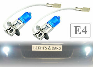 2x H3 SUPERWHITE Xenon Look  Nebelscheinwerfer AUDI BMW MERCEDES VW SEAT HW3