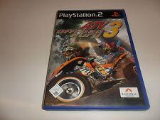PlayStation 2 PS 2 ATV todoterreno Fury 3